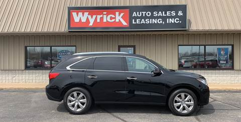 Acura Mdx For Sale >> Acura Mdx For Sale In Holland Mi Wyrick Auto Sales Leasing