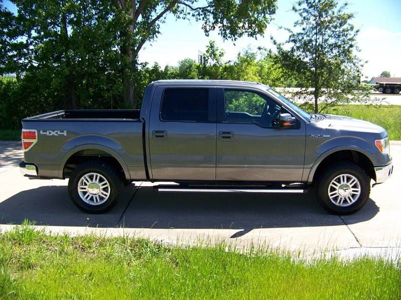 2011 Ford F-150 4x4 Lariat 4dr SuperCrew Styleside 5.5 ft. SB - Troy MO