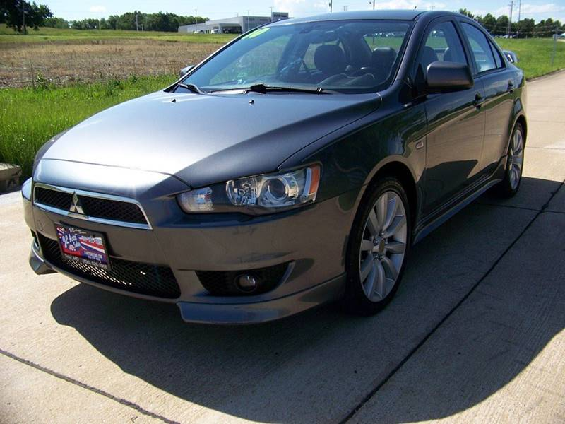 2010 mitsubishi lancer gts 4dr sedan cvt in troy mo j l. Black Bedroom Furniture Sets. Home Design Ideas