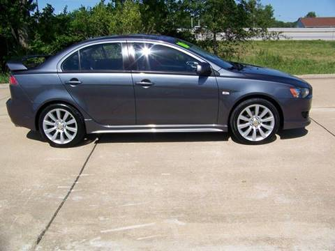2010 Mitsubishi Lancer for sale at J L AUTO SALES in Troy MO