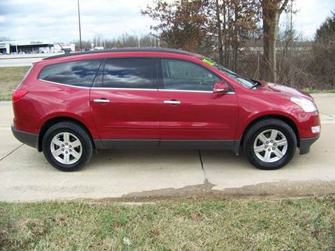 2012 Chevrolet Traverse for sale at J L AUTO SALES in Troy MO