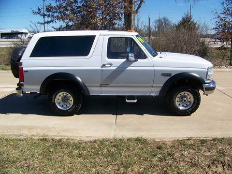 1996 Ford Bronco for sale at J L AUTO SALES in Troy MO