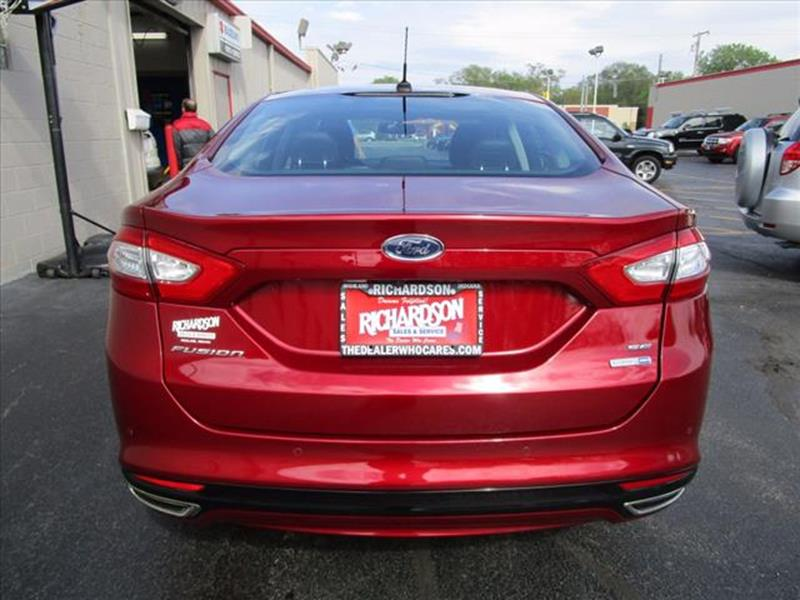 2015 Ford Fusion AWD SE 4dr Sedan In Highland IN