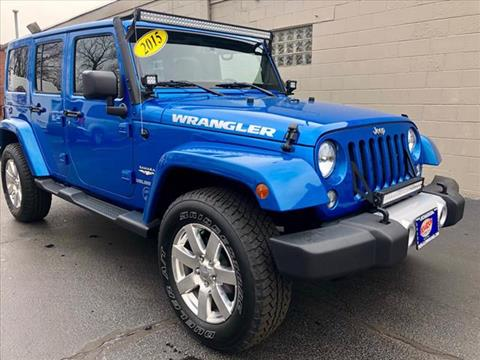 2015 Jeep Wrangler Unlimited for sale in Highland, IN