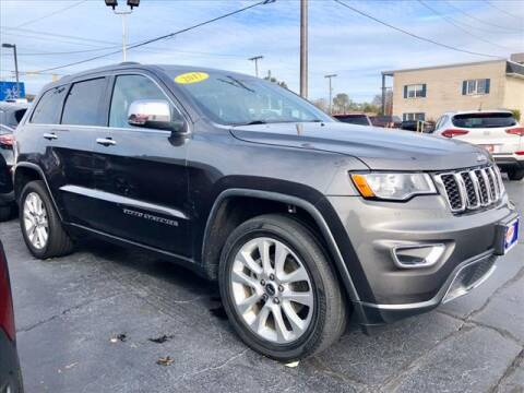2017 Jeep Grand Cherokee for sale at Richardson Sales & Service in Highland IN