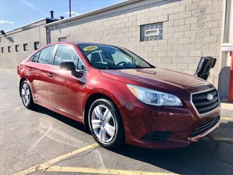 2016 Subaru Legacy for sale at Richardson Sales & Service in Highland IN