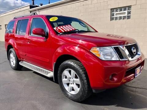 2012 Nissan Pathfinder for sale at Richardson Sales & Service in Highland IN