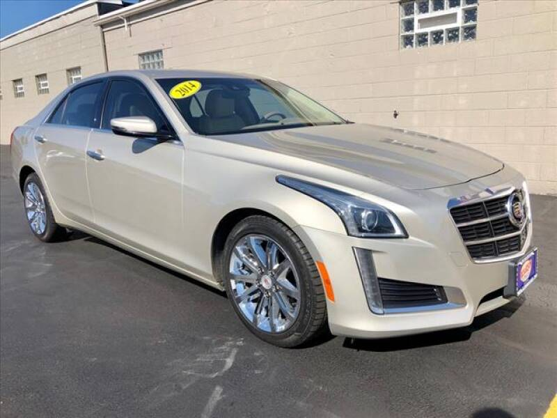 2014 Cadillac CTS for sale at Richardson Sales & Service in Highland IN