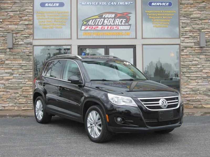 2009 Volkswagen Tiguan SE/SEL 4MOTION In York PA - Your Auto Source