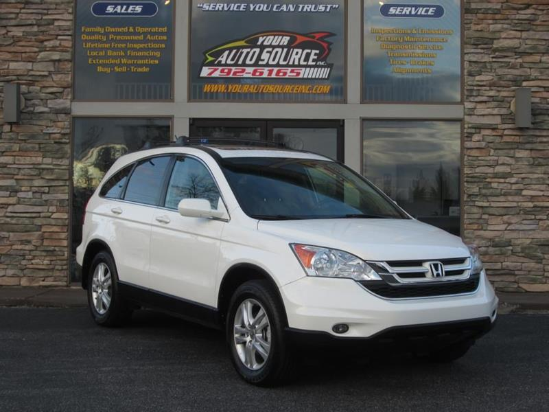 2011 Honda Cr-V AWD EX-L 4dr SUV In York PA - Your Auto Source Inc
