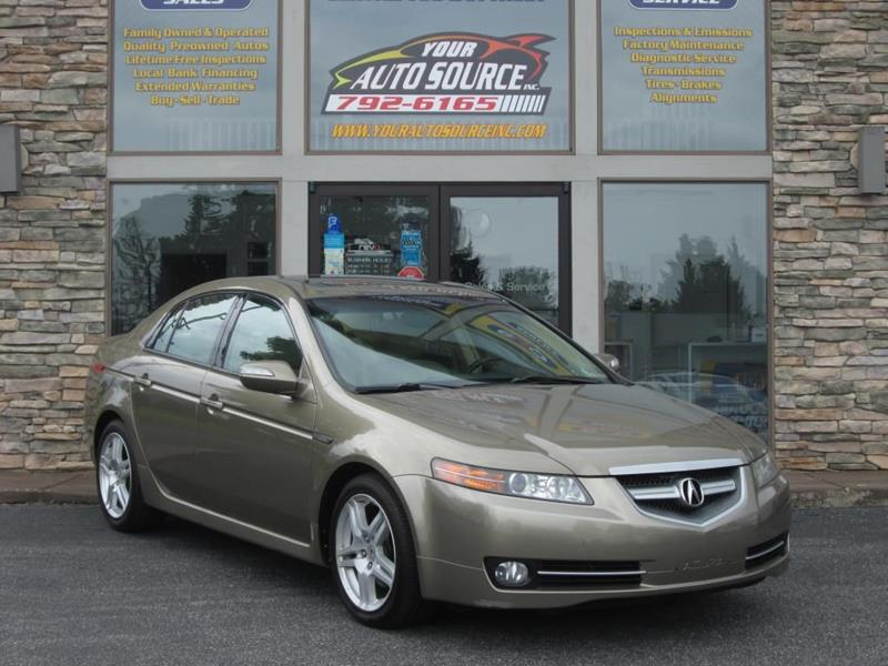 2008 Acura Tl SEDAN In York PA - Your Auto Source