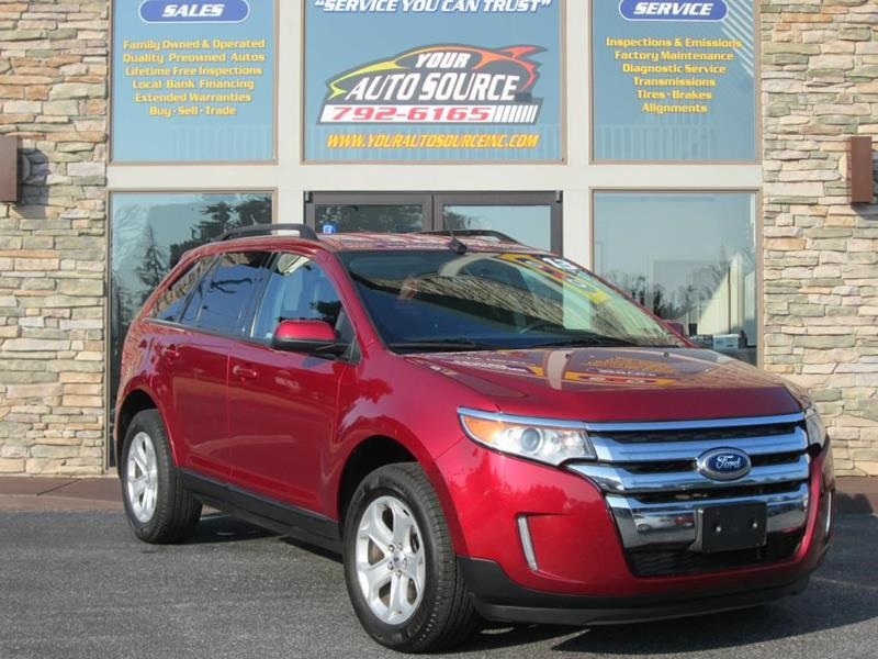 Ford Edge For Sale At Your Auto Source In York Pa