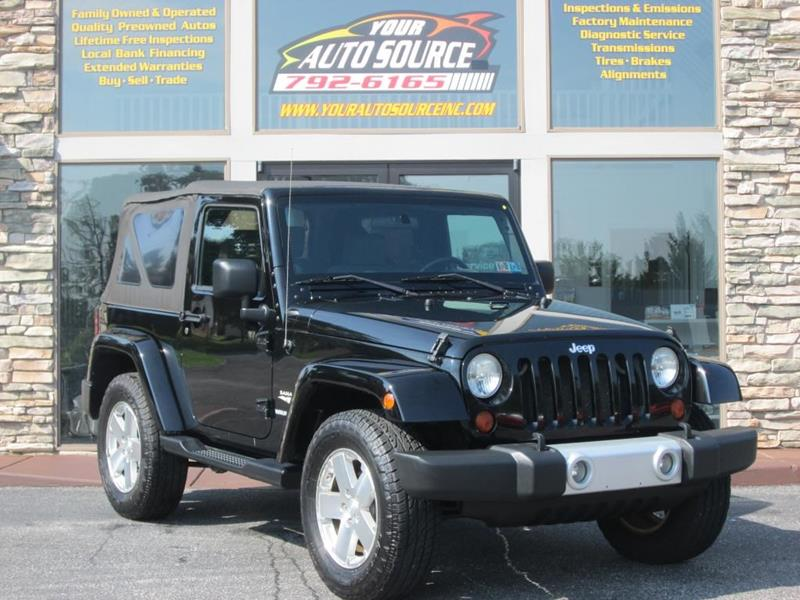 2009 Jeep Wrangler For Sale At Your Auto Source In York PA