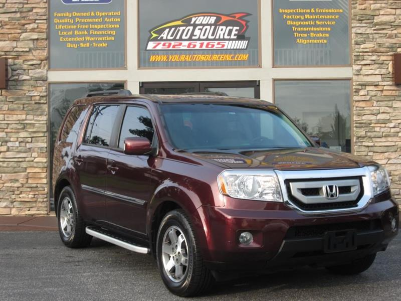 2009 Honda Pilot 4x4 Touring 4dr Suv W Navi And Dvd In York Pa Rh  Yourautosourceinc Com 2005 Honda Pilot Touring 2005 Honda Pilot Touring