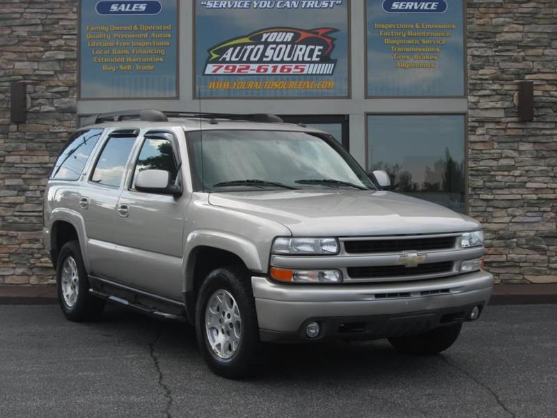 2005 Chevrolet Tahoe For Sale At Your Auto Source In York PA