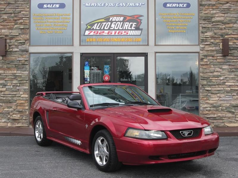 2003 Ford Mustang In York Pa Your Auto Source