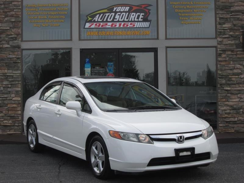 2008 Honda Civic For Sale At Your Auto Source In York PA