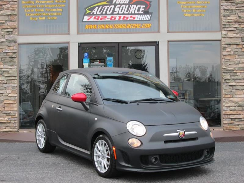 2015 Fiat 500 Abarth In York Pa Your Auto Source