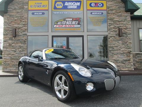 2007 Pontiac Solstice for sale in York, PA
