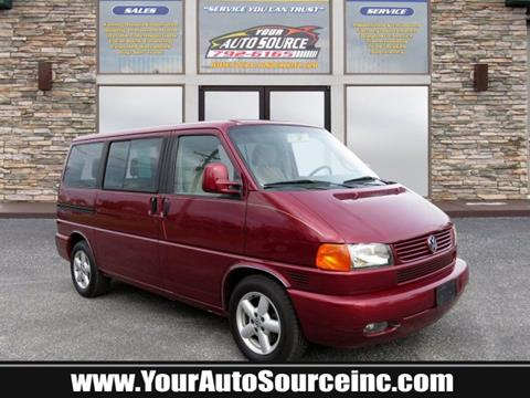 2002 Volkswagen EuroVan for sale in York, PA