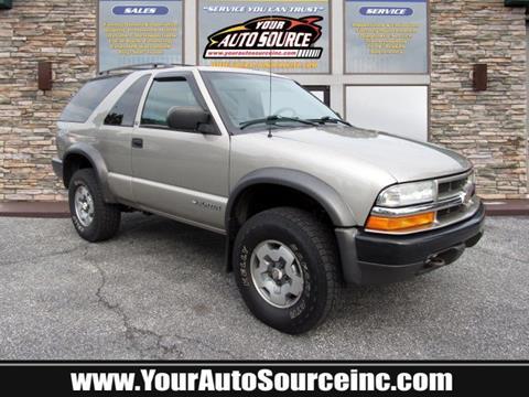 2002 Chevrolet Blazer for sale in York, PA