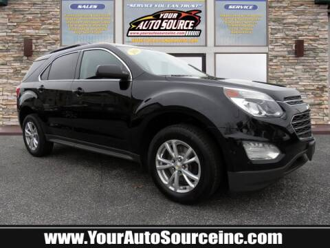 2016 Chevrolet Equinox LT for sale at Your Auto Source in York PA