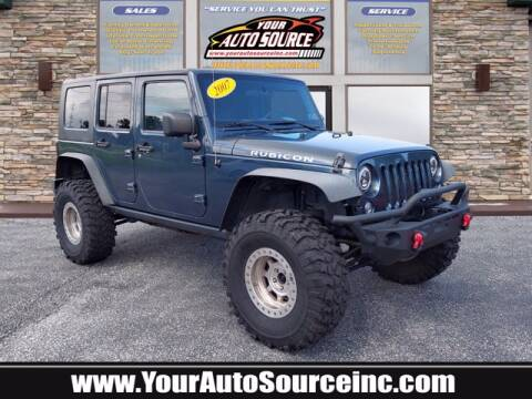 2007 Jeep Wrangler Unlimited for sale at Your Auto Source in York PA