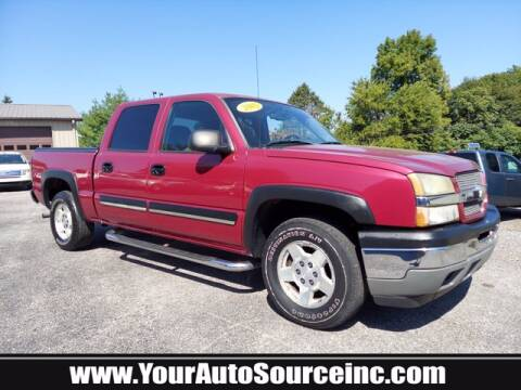 2005 Chevrolet Silverado 1500 for sale at Your Auto Source in York PA
