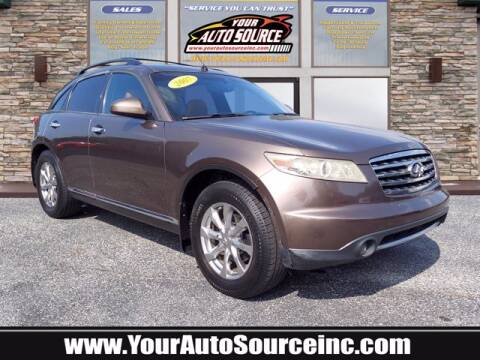 2007 Infiniti FX35 for sale at Your Auto Source in York PA