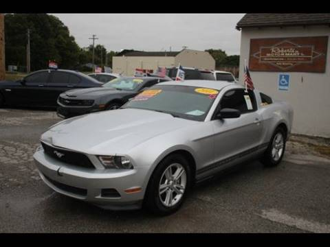 2011 Ford Mustang for sale at Roberts Company Motor Mart, LLC in Harrisonville MO