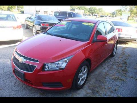 2014 Chevrolet Cruze for sale in Harrisonville, MO