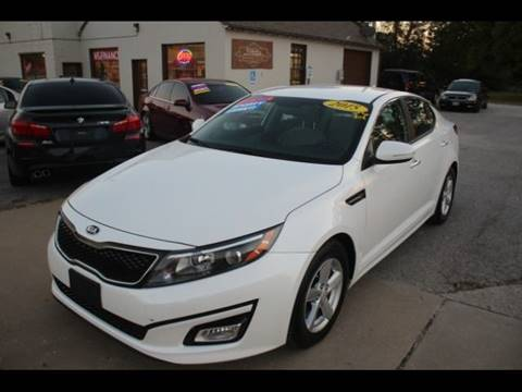 2015 Kia Optima for sale at Roberts Company Motor Mart, LLC in Harrisonville MO