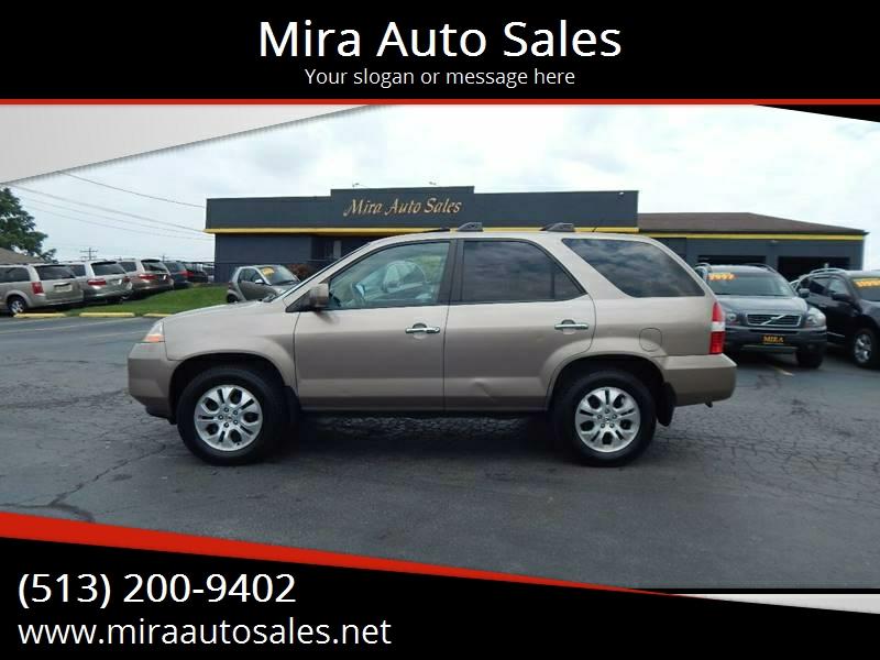 Mira Auto Sales >> 2003 Acura Mdx Awd Touring 4dr Suv In Cincinnati Oh Mira Auto Sales