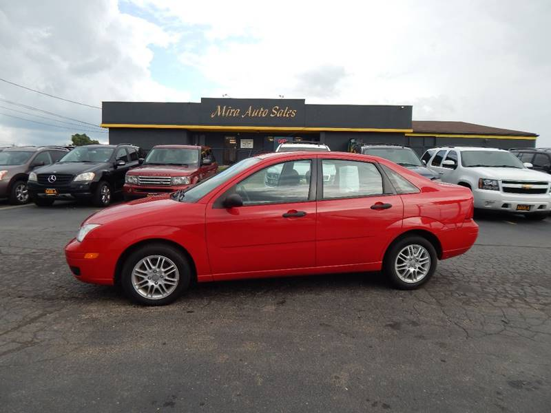Mira Auto Sales >> 2007 Ford Focus ZX4 SE 4dr Sedan In Cincinnati OH - Mira Auto Sales