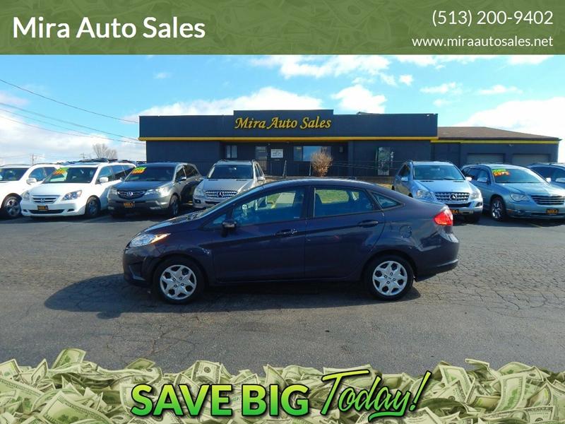 Mira Auto Sales >> Cincinnati Used Ford Fiesta Se 4dr Sedan Gasoline Best Price
