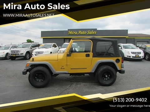 2003 Jeep Wrangler for sale in Cincinnati, OH