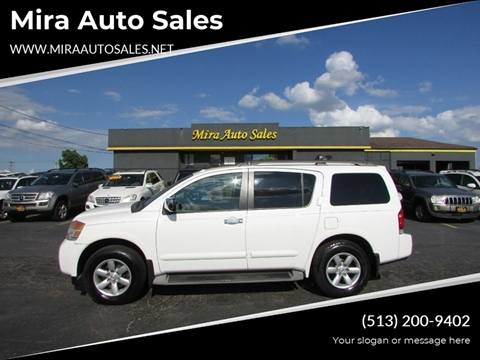 Mira Auto Sales >> Nissan Armada For Sale In Cincinnati Oh Mira Auto Sales
