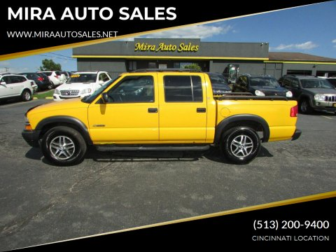 2004 Chevrolet S-10 for sale at MIRA AUTO SALES in Cincinnati OH