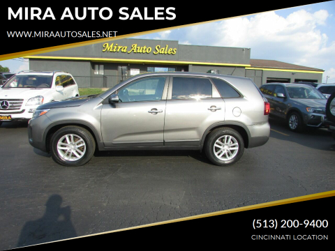 2014 Kia Sorento for sale at MIRA AUTO SALES in Cincinnati OH