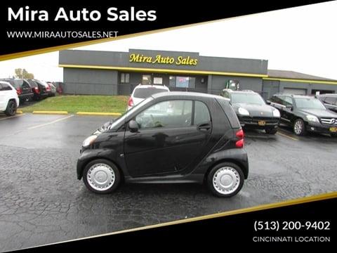 2014 Smart fortwo for sale at MIRA AUTO SALES in Cincinnati OH