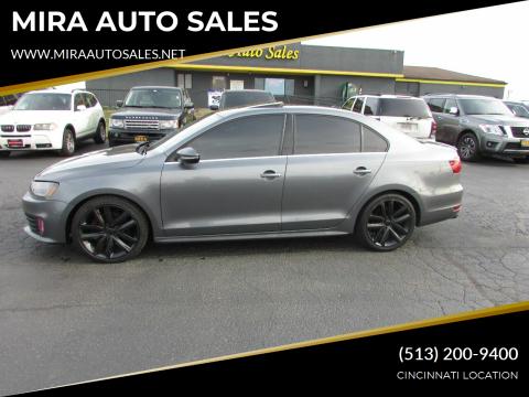 2012 Volkswagen Jetta for sale at MIRA AUTO SALES in Cincinnati OH
