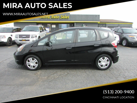 2011 Honda Fit for sale at MIRA AUTO SALES in Cincinnati OH