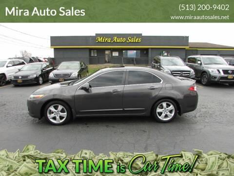 2009 Acura TSX for sale at MIRA AUTO SALES in Cincinnati OH