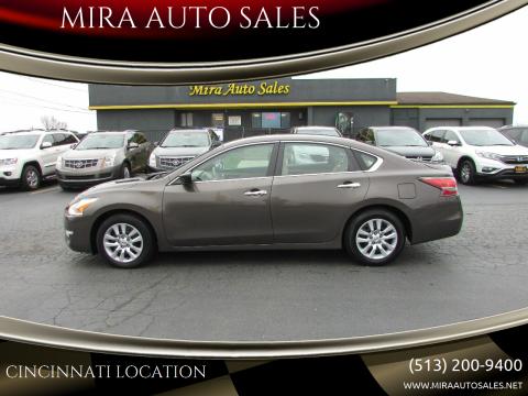 2015 Nissan Altima 2.5 S for sale at MIRA AUTO SALES in Cincinnati OH