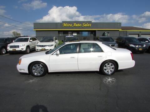 2005 Cadillac DeVille for sale at MIRA AUTO SALES in Cincinnati OH