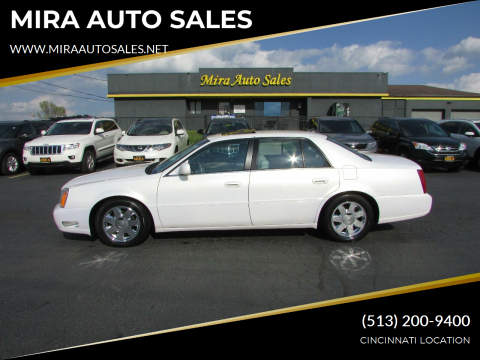 2005 Cadillac DeVille for sale at MIRA AUTO SALES in Cincinnati OH