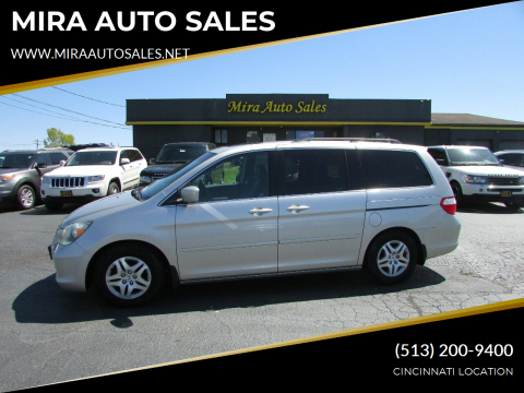 2007 Honda Odyssey for sale at MIRA AUTO SALES in Cincinnati OH