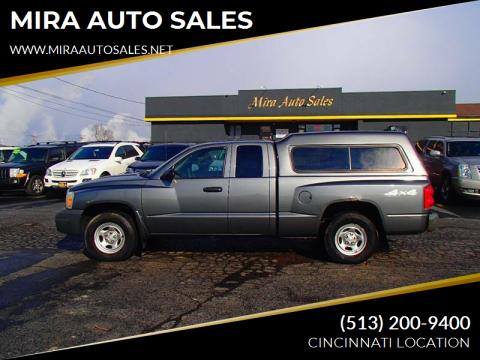 2006 Dodge Dakota for sale at MIRA AUTO SALES in Cincinnati OH