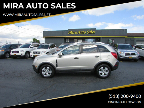 2013 Chevrolet Captiva Sport for sale at MIRA AUTO SALES in Cincinnati OH