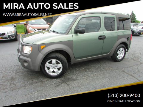 2004 Honda Element for sale at MIRA AUTO SALES in Cincinnati OH